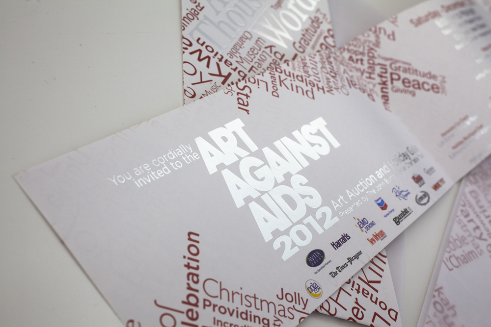 Art Against AIDS Invites