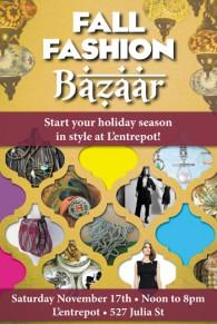 Fall Fashion Bazaar 1