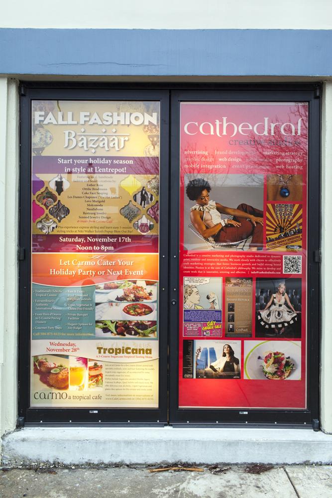 Fall Fashion Bazaar Doors