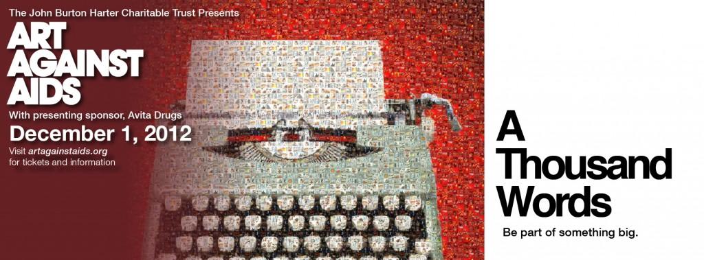 Art_Against_AIDS_typewriter_FB