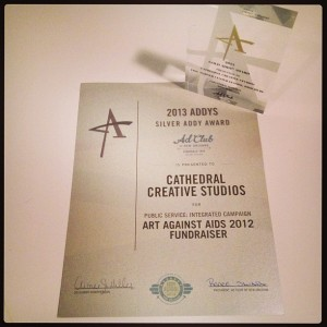 Cathedral Creative Studios - New Orleans ADDY Awards 2013